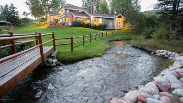 7035 E Sopris Creek Road, Snowmass, CO 81654 (MLS #151952) :: McKinley Sales Real Estate