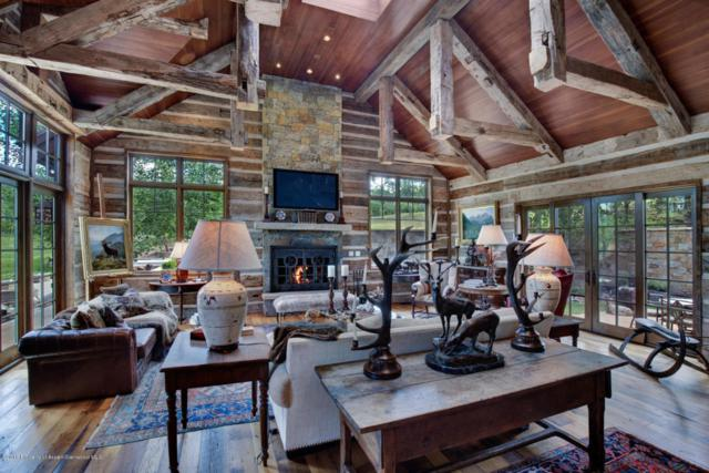 4305 Snowmass Creek Road, Snowmass, CO 81654 (MLS #154998) :: McKinley Sales Real Estate