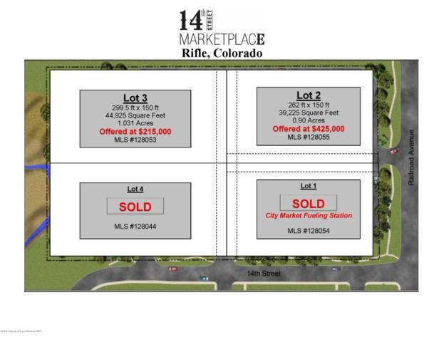 Lot 2-1415 Railroad Avenue, Rifle, CO 81650 (MLS #128055) :: McKinley Sales Real Estate