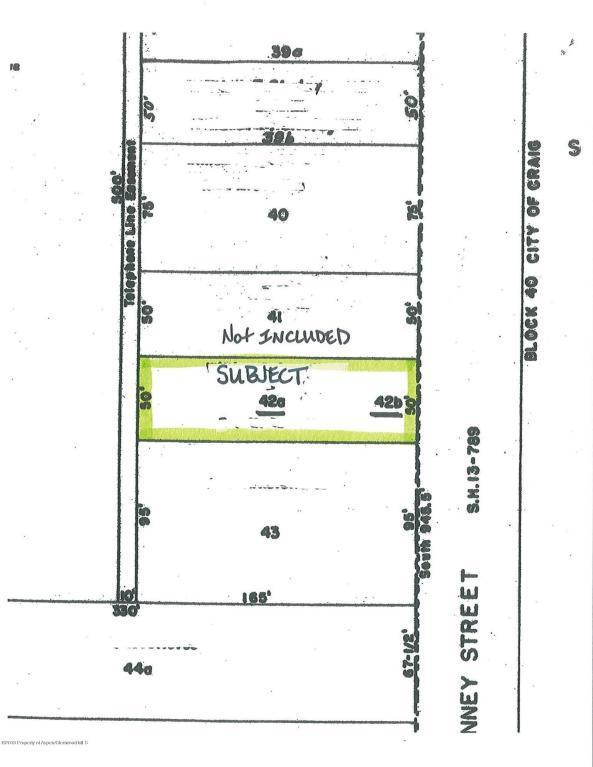 456 Ranney Street, Craig, CO 81625 (MLS #154535) :: McKinley Sales Real Estate