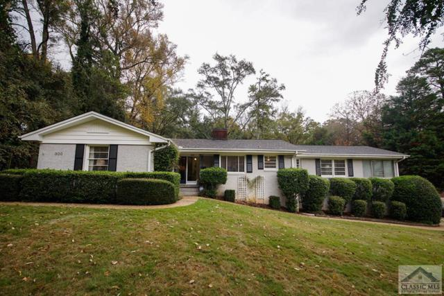 600 West Lake Drive, Athens, GA 30606 (MLS #965754) :: The Holly Purcell Group