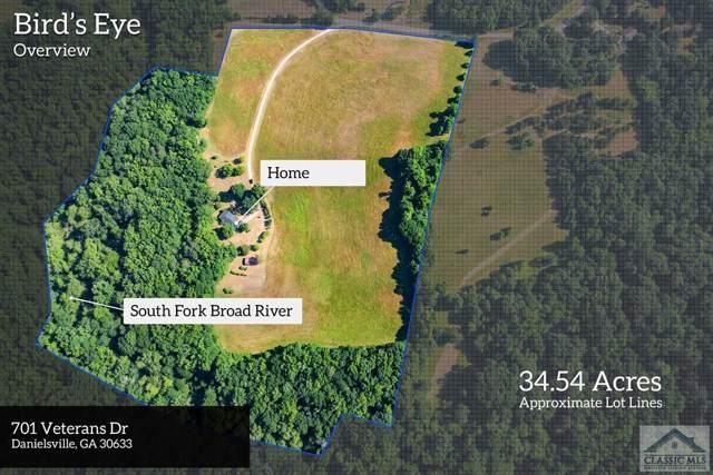 701 Veterans Drive, Danielsville, GA 30633 (MLS #973072) :: Signature Real Estate of Athens