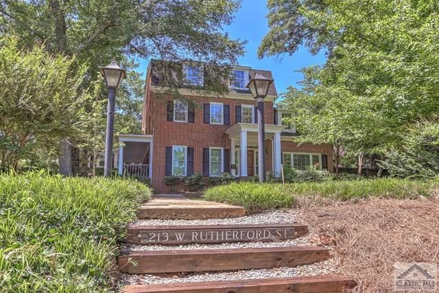 213 Rutherford Street W, Athens, GA 30605 (MLS #976596) :: Athens Georgia Homes
