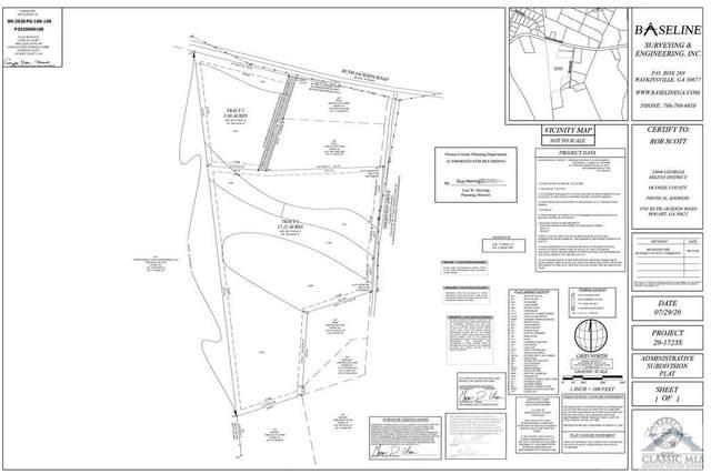 1701 Ruth Jackson Road, Bogart, GA 30622 (MLS #978735) :: Signature Real Estate of Athens