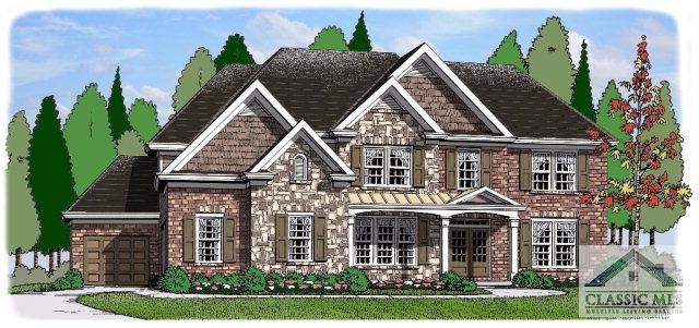 1110 Highland Park Way Lot 1, Statham, GA 30666 (MLS #959855) :: Team Cozart