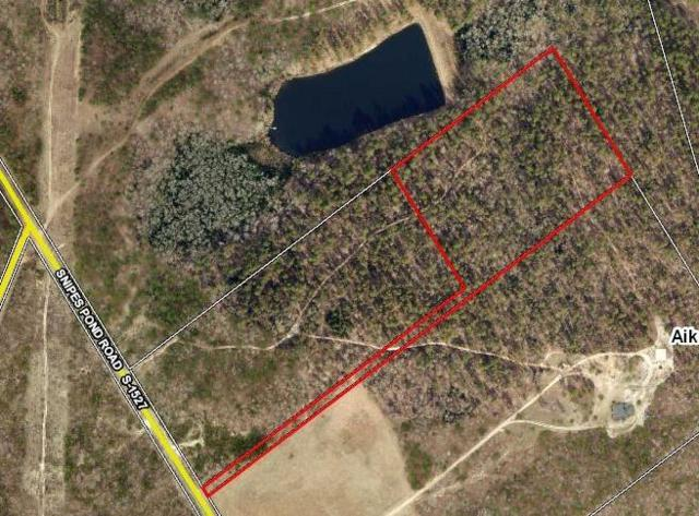 Parcel B Snipes Pond Road, Aiken, SC 29805 (MLS #433925) :: Shannon Rollings Real Estate