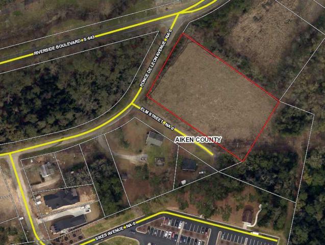 Lots1-4 Ponce De Leon Avenue, North Augusta, SC 29841 (MLS #435915) :: Melton Realty Partners