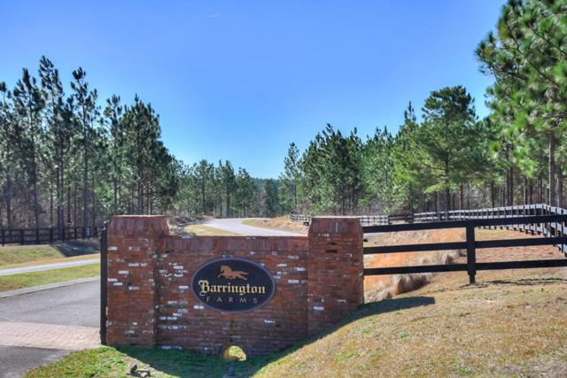 Lot 10-1 Barrington Farms Dr., Aiken, SC 29803 (MLS #436138) :: Shannon Rollings Real Estate