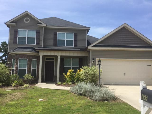 437 Sebastian Drive, Grovetown, GA 30813 (MLS #444207) :: Shannon Rollings Real Estate