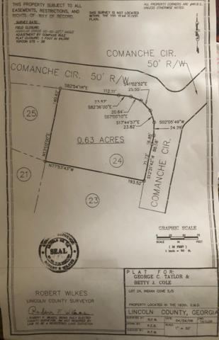 0 Comanche Circle, Lincolnton, GA 30817 (MLS #445029) :: RE/MAX River Realty