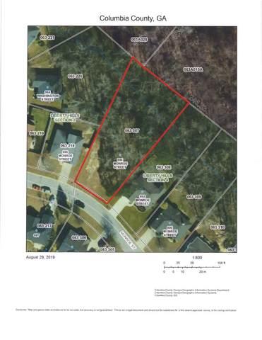 694 Monroe Street, Grovetown, GA 30813 (MLS #445954) :: Shannon Rollings Real Estate