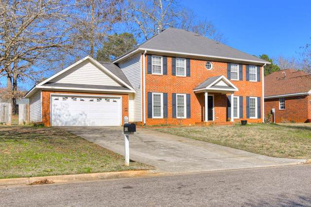 4123 Fox Brush Drive, Evans, GA 30809 (MLS #450801) :: REMAX Reinvented | Natalie Poteete Team
