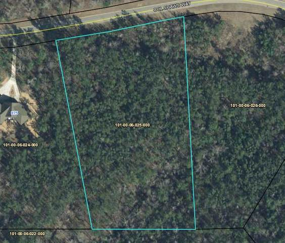 00 Colonel Shaws Way, Edgefield County, SC 29860 (MLS #453078) :: The Starnes Group LLC
