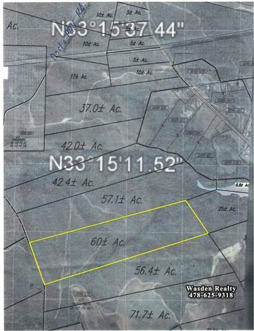 00000 Jessie James Pond Road, Wrens, GA 30833 (MLS #460634) :: Melton Realty Partners