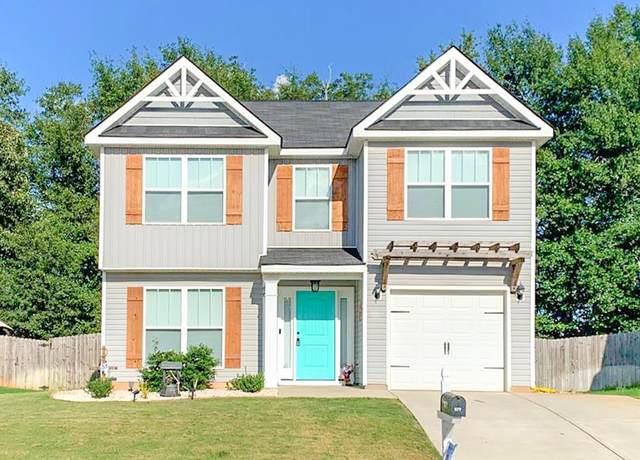 677 Fox Haven Drive, Aiken, SC 29803 (MLS #460701) :: Southeastern Residential