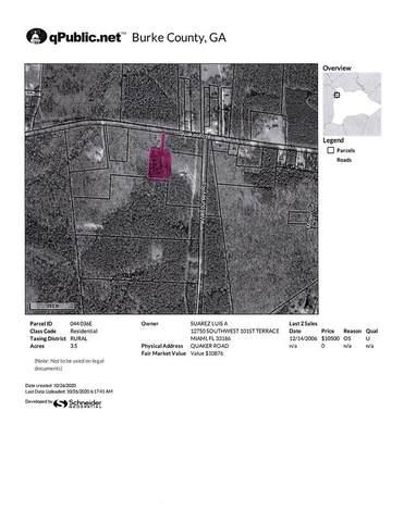 00 Quaker Road, Waynesboro, GA 30830 (MLS #462162) :: RE/MAX River Realty