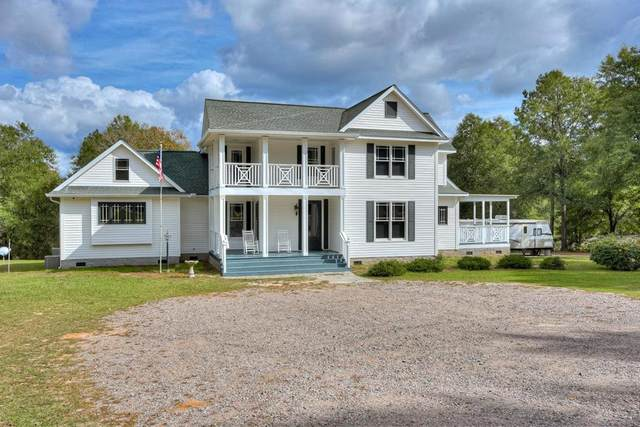 4719 Banks Mill Road, Aiken, SC 29803 (MLS #462689) :: Young & Partners