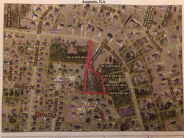 2802 Willis Foreman Road, Hephzibah, GA 30815 (MLS #465522) :: Melton Realty Partners