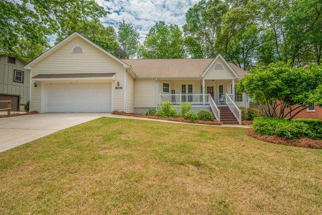 805 Hickory Ridge Road, Aiken, SC 29803 (MLS #468950) :: Better Homes and Gardens Real Estate Executive Partners