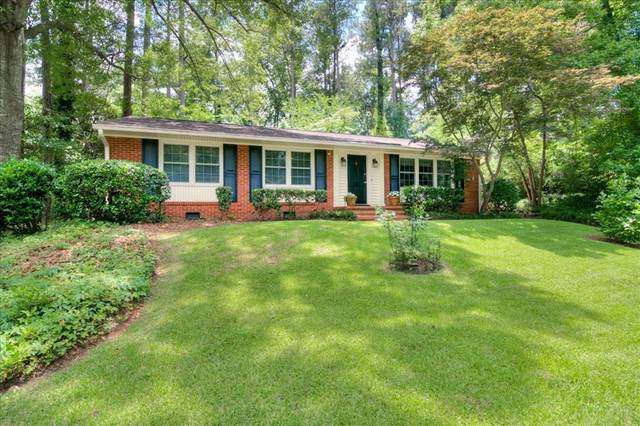 634 Carlton Drive, Augusta, GA 30909 (MLS #471235) :: Better Homes and Gardens Real Estate Executive Partners