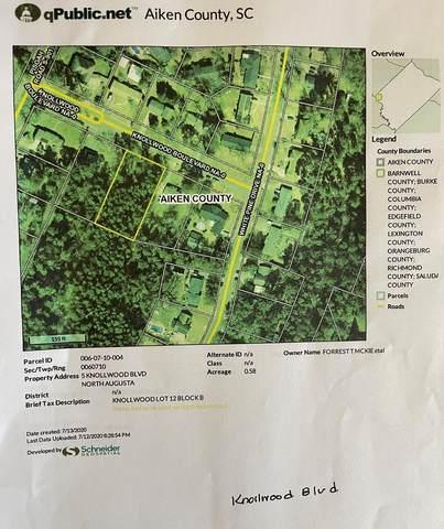 5 Knollwood Boulevard, North Augusta, SC 29841 (MLS #471798) :: The Starnes Group LLC