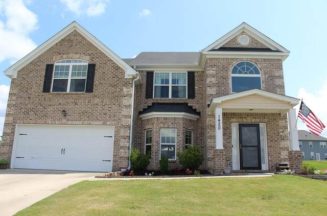 1420 Isaac Way, Hephzibah, GA 30815 (MLS #473687) :: Rose Evans Real Estate