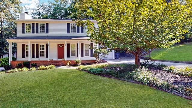 1845 Hidden Hills Drive, North Augusta, SC 29841 (MLS #477040) :: Southeastern Residential