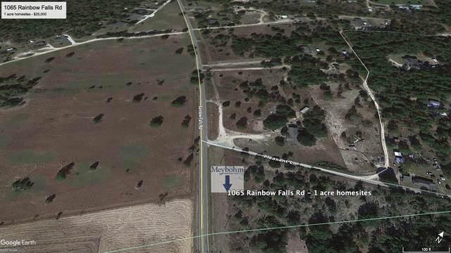 00 Rainbow Falls Road, Graniteville, SC 29860 (MLS #440634) :: REMAX Reinvented | Natalie Poteete Team