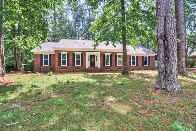 4216 Spruce Lane, Martinez, GA 30907 (MLS #418381) :: Shannon Rollings Real Estate