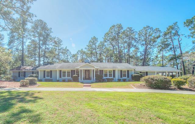 1707 Ridgecrest Avenue, Aiken, SC 29801 (MLS #424458) :: Shannon Rollings Real Estate