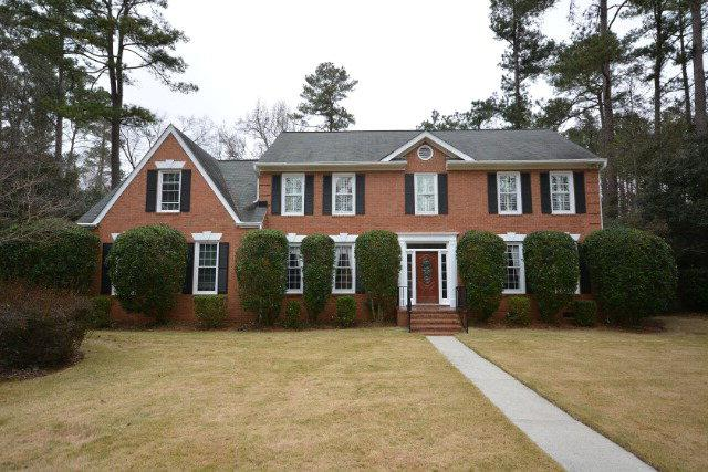 3505 Turnberry Lane, Martinez, GA 30907 (MLS #436256) :: Shannon Rollings Real Estate