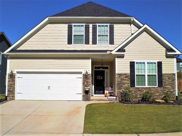 516 Bunchgrass Street, Evans, GA 30809 (MLS #438221) :: RE/MAX River Realty