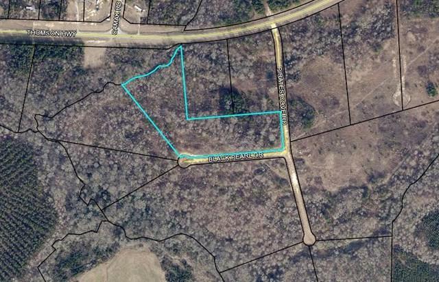 0 Black Pearl Drive, Warrenton, GA 30828 (MLS #440520) :: Venus Morris Griffin | Meybohm Real Estate
