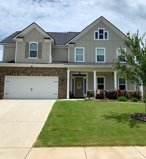 451 Kirkwood Drive, Evans, GA 30809 (MLS #444106) :: Shannon Rollings Real Estate