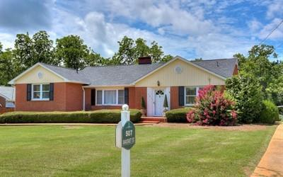507 Bauskett Street, Edgefield, SC 29824 (MLS #444267) :: Young & Partners