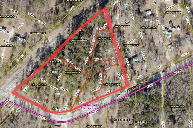 2289 Plantation Road, Augusta, GA 30906 (MLS #445964) :: Shannon Rollings Real Estate