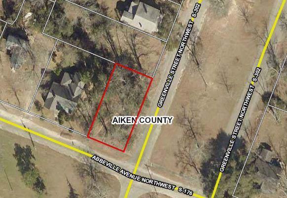00 Greenville Street, Aiken, SC 29801 (MLS #446054) :: Shannon Rollings Real Estate