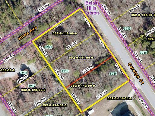 Lot 0 Carolyn Street, Augusta, GA 30909 (MLS #449115) :: Shannon Rollings Real Estate
