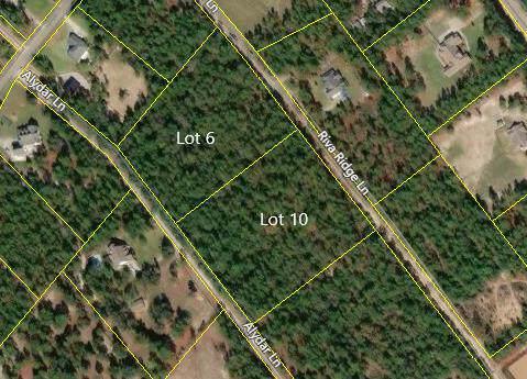 Lot 6&10 Alydar Lane, Aiken, SC 29803 (MLS #450942) :: REMAX Reinvented | Natalie Poteete Team