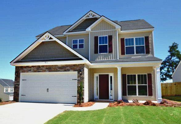 1091 Gregory Landing Drive, North Augusta, SC 29860 (MLS #452120) :: Young & Partners