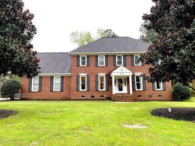 4218 Knollcrest Circle S, Augusta, GA 30907 (MLS #453519) :: Southeastern Residential