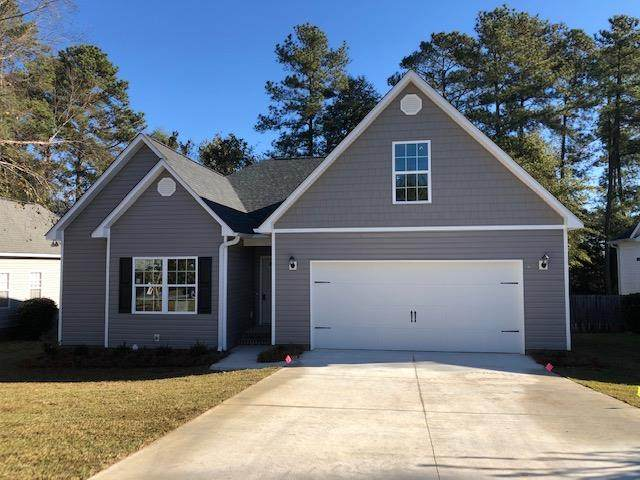 110 Granger Drive, Aiken, SC 29803 (MLS #462922) :: Shannon Rollings Real Estate