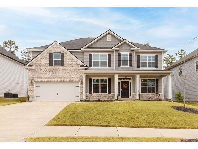 636 Tree Top Trail, Evans, GA 30809 (MLS #465000) :: Tonda Booker Real Estate Sales