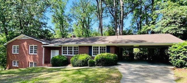 806 Brooks Drive, North Augusta, SC 29841 (MLS #469616) :: Shannon Rollings Real Estate