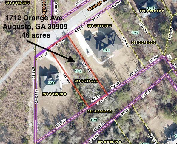 1712 Orange Avenue, Augusta, GA 30909 (MLS #469892) :: Better Homes and Gardens Real Estate Executive Partners