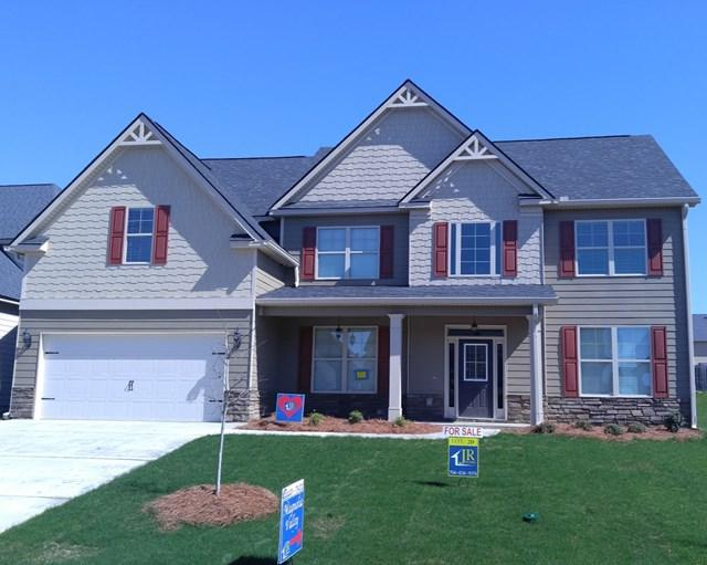 352 Bella Rose Drive, Evans, GA 30809 (MLS #419342) :: Shannon Rollings Real Estate
