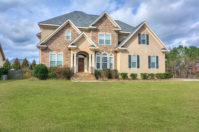 896 Woody Hill Circle, Evans, GA 30809 (MLS #423081) :: Natalie Poteete Team