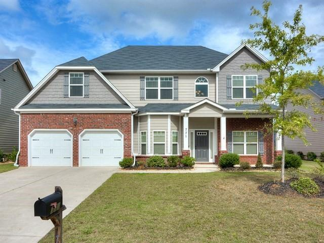 771 Bridgewater Lane, Evans, GA 30809 (MLS #433303) :: Greg Oldham Homes