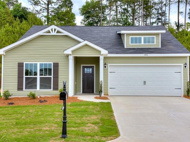286 Kemper Downs Drive, Aiken, SC 29803 (MLS #438507) :: Shannon Rollings Real Estate