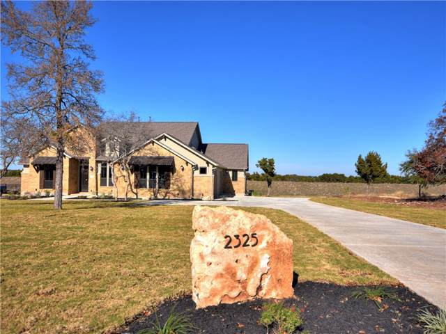 2325 High Lonesome, Leander, TX 78641 (#2179613) :: Papasan Real Estate Team @ Keller Williams Realty